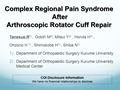 Complex Regional Pain Syndrome After Arthroscopic Rotator Cuff Repair