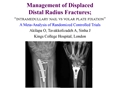 "Management Of Displaced Extra-Articular Distal Radius Fractures; ""Intramedullary Nail Versus Volar Plate Fixation"" A Meta-Analysis Of Randomized Controlled Trials"
