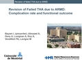 Complication Rate And Functional Outcome After Revision Of MoM THA Related ARMD