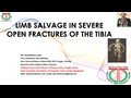 Limb Salvage In Severe Open Fractures Of The Tibia