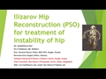 Ilizarov Hip Reconstruction Or Pelvic Support Osteotomy For Treatment Instability Of Hip