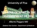 The Role Of Negative Pressure Wound Therapy (NPWT) In The Management Of The Diabetic Foot Ulceration