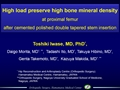 High Load Preserve High Bone Mineral Density At Proximal Femur After Cemented Polished Double Tapered Stem Insertion