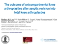 The Outcome Of Unicompartmental Knee Arthroplasties After Aseptic Revision Into Total Knee Arthroplasties. A Comparative Study Of 768 Total Knees And 578 Uni Knees Revised To Total Knees Reported To The Norwegian Arthroplasty Register (1994-2011)