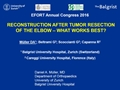 Reconstruction After Tumor Resection Of The Elbow – What Works Best?