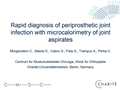 Rapid Pre-Operative Diagnosis Of Periprosthetic Joint Infection With Microcalorimetry Of Joint Aspirates