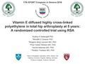 Vitamin E Diffused Highly Cross-Linked Polyethylene In Total Hip Arthroplasty At 5 Years: A Randomized Controlled Trial Using Radiostereometric Analysis
