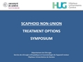 Non-Vascularised Bone Grafting In Scaphoid Non-Union: What Kind Of Fixation Do We Need