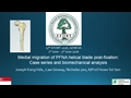 Medial Migration Of PFNA Helical Blade Post Fixation: Case Series And Biomechanical Analysis