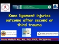 Knee Ligament Injuries After Second Or Third Trauma