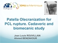 Cadaveric Biomechanical Study Of Patella Olecranization In Posterior Cruciate Ligament Rupture