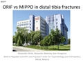 ORIF Vs MIPPO In Distal Tibia Fractures