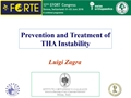 Lower Limb Prevention And Treatment Of Total Hip Arthroplasty Instability