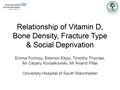Relationship Of Vitamin D With Bone Mineral Density, Fracture Type And Social Deprivation In Neck Of Femur Fractures