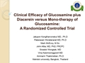 Efficacy Of Glucosamine Plus Diacerein Versus Mono-Therapy Of Glucosamine: A Randomized Clinical Trial