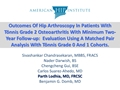 Outcomes Of Hip Arthroscopy In Patients With Tönnis Grade 2 Osteoarthritis With Minimum Two-Year Follow-Up: Evaluation Using A Matched Pair Analysis With Tönnis Grade 0 And 1 Cohort