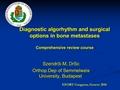 Diagnostic Algorithm & Treatment Options In Bone Metastasis