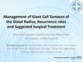 Treatment Options In Distal Radius Giant Cell Tumor