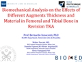 Biomechanical Analysis On The Effects Of Different Augments Thickness And Material In Femoral And Tibial Bone In Revision TKA