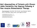 Gait Abnormalities Of Patients With Chronic Ankle Instability Can Improve Following A Non-Invasive Biomechanical Therapy. A Retrospective Analysis