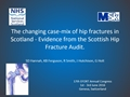 The Changing Case-Mix Of Hip Fractures In Scotland - Evidence From The Scottish Hip Fracture Audit