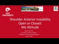 Open Or Closed: My Attitude