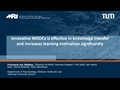 E-Learning In Trauma Education: Innovative MOOCs Is Effective In Kowledge Transfer And Increases Learning Motiviation Significantly