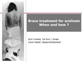 Bracing In Idiopathic Scoliosis