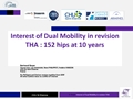 Interest Of Dual Mobility In Revision Hip Arthroplasty: 152 Hips At Ten Years Of Follow-Up