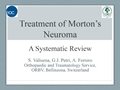 Treatment Of Morton's Neuroma: A Systematic Review