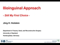 Ilioinguinal Approach - Still My First Choice