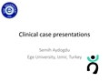 Clinical Cases Presentations