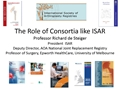 The Role Of Consortia Like ISAR