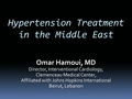 Hypertension treatment in the Middle East